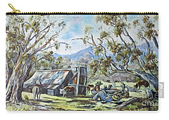 Wallace Hut, Australia's Alpine National Park. Carry-all Pouch
