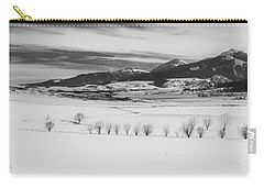 Carry-all Pouch featuring the photograph Wallowa Mountains by Cat Connor