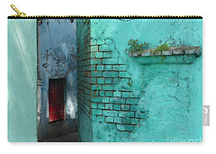 Carry-all Pouch featuring the photograph Walls by Jean luc Comperat