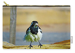 Carry-all Pouch featuring the photograph Wally The Wet by Mark Blauhoefer