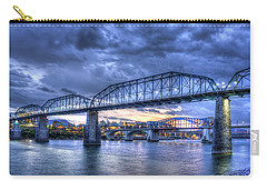 Walnut Street Pedestrian Bridge Chattanooga Tennessee Carry-all Pouch