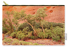 Carry-all Pouch featuring the photograph Walpa Gorge 03 by Werner Padarin