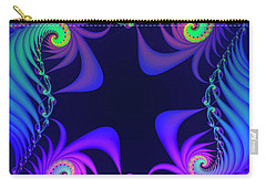 Carry-all Pouch featuring the digital art Walpurgis Night by Jutta Maria Pusl