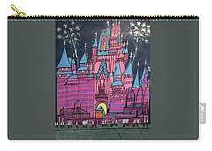 Walt Disney World Cinderrela Castle Carry-all Pouch