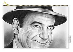 Walter Matthau Carry-all Pouch by Greg Joens