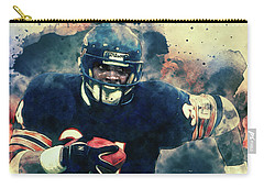 Walter Payton Carry-all Pouch by Taylan Apukovska