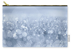 Waltz In The Garden Blue Carry-all Pouch