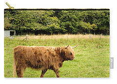 Carry-all Pouch featuring the photograph Wandering Coo by Christi Kraft