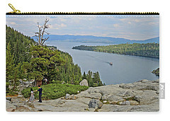 Carry-all Pouch featuring the photograph Wandering The Rocky Slopes by Lynda Lehmann