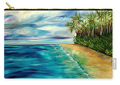 Wandering Through Turquoise Days Carry-all Pouch