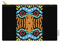 War Eagle Totem Mosaic Carry-all Pouch