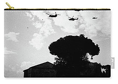 War Helicopters Over The Imperial Fora Carry-all Pouch