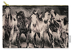 War Horses Carry-all Pouch