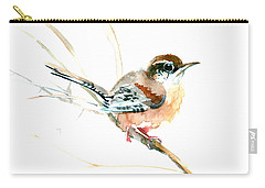 Warbler Songbird Art  Carry-all Pouch
