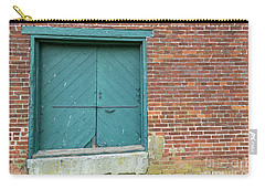 Warehouse Loading Door And Brick Wall Carry-all Pouch