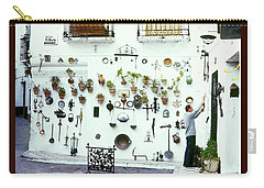 Wares On The Wall Poster Carry-all Pouch