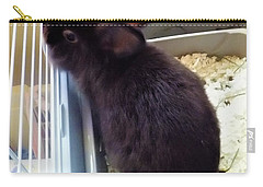 Carry-all Pouch featuring the photograph Warm And Soft by Denise Fulmer