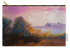 Warm Colorful Landscape Carry-all Pouch