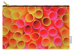 Carry-all Pouch featuring the photograph Warm In Neon By Kaye Menner by Kaye Menner