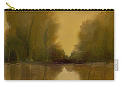 Carry-all Pouch featuring the painting Warm Morning by Michelle Abrams