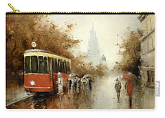 Warm Moscow Autumn Of 1953 Carry-all Pouch