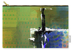 Carry-all Pouch featuring the mixed media Warm Spring Night by Eduardo Tavares