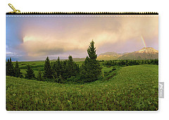Carry-all Pouch featuring the photograph Warm The Soul Panorama by Chad Dutson