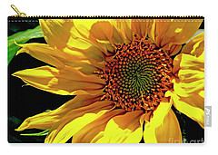 Warm Welcoming Sunflower Carry-all Pouch
