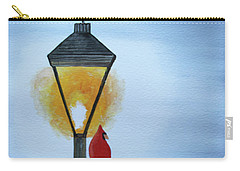 Carry-all Pouch featuring the painting Warming Up by Jack G Brauer