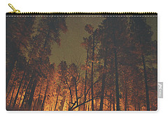 Warmth Of Trees And Stars Carry-all Pouch