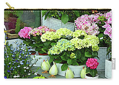 Warnemunde Flower Shop Carry-all Pouch