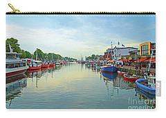 Warnemunde Germany Port Carry-all Pouch by Eva Kaufman
