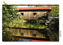 Warner Covered Bridge Carry-all Pouch by Greg Fortier