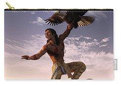 Warrior And Eagle Carry-all Pouch