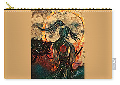 Warrior Moon Carry-all Pouch by Vennie Kocsis