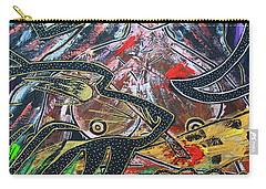 Warrior Spirit Woman Carry-all Pouch