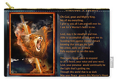 Warrior's Heart Poetry Carry-all Pouch