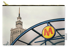 Carry-all Pouch featuring the photograph Warsaw by Chevy Fleet