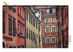 Warsaw Old Town Charm Carry-all Pouch by Carol Japp