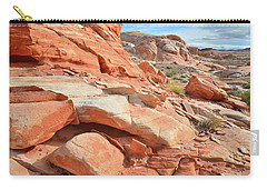 Wash 5 In Valley Of Fire Carry-all Pouch