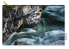 Carry-all Pouch featuring the photograph Wash Away Your Worries - Nature Art by Jordan Blackstone