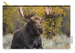 Washakie During The Rut Season Carry-all Pouch by Yeates Photography