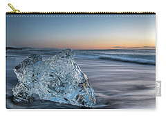 Washed Up Ice At Dawn Carry-all Pouch