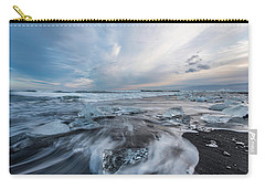 Washed Up Ice Sunset Carry-all Pouch