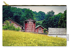 Carry-all Pouch featuring the photograph Washington County Vignette by Kendall McKernon