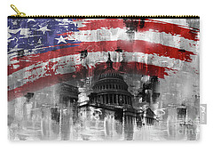 Washington Dc Building 01a Carry-all Pouch by Gull G