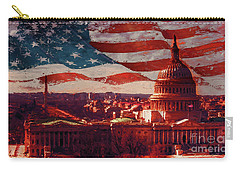 Washington Dc Building 76h Carry-all Pouch by Gull G