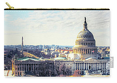 Washington Dc Building 9i8 Carry-all Pouch by Gull G