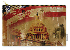 Washington Dc Carry-all Pouch by Gull G