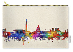 Washington Dc Skyline Watercolor 2 Carry-all Pouch